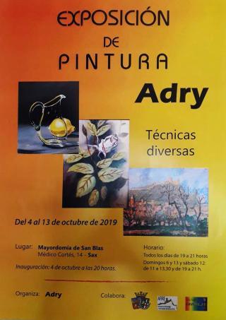 EXPOSICIÓN DE PINTURA. Adry