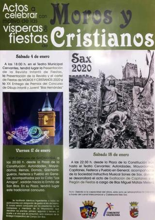 XLVI CONCURSO DE GACHAMIGA. Fiestas de Moros y Cristianos