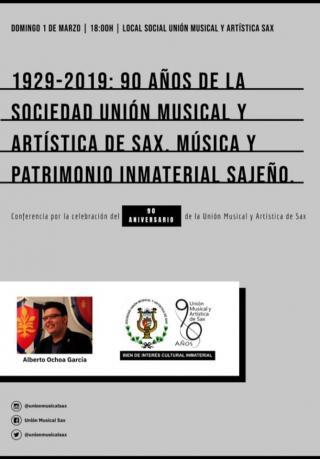 CONFERENCIA 90 AÑOS DE HISTORIA DE LA UNIÓN MUSICAL