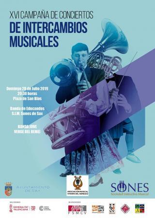 XVI CAMPAÑA DE CONCIERTOS INTERCAMBIOS MUSICALES