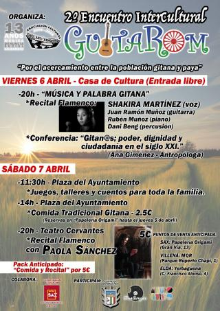 2º ENCUENTRO INTERCULTURAL GuitaRom 1