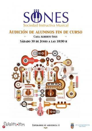SIM SONES DE SAX. Audición de alumnos