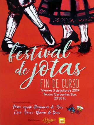 FESTIVAL DE JOTAS - FIN DE CURSO