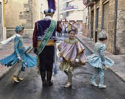 EL HOMENAJE AL PAJE Y DESFILE INFANTIL